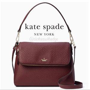 ⬇️NWT Kate Spade Carter Georgia Cherrywood Satchel